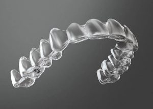 Clear Invisalign retainers